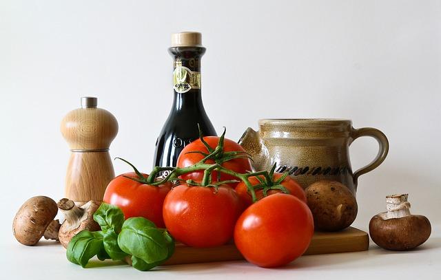 rajčata a houby