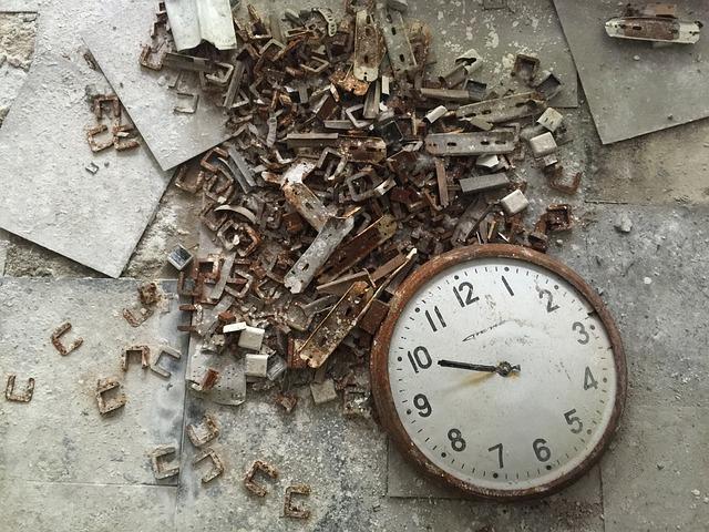 hodiny po katastrofě